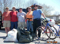 RI WO Apr08 - Blackstone Bikeway Earthday Cleanup