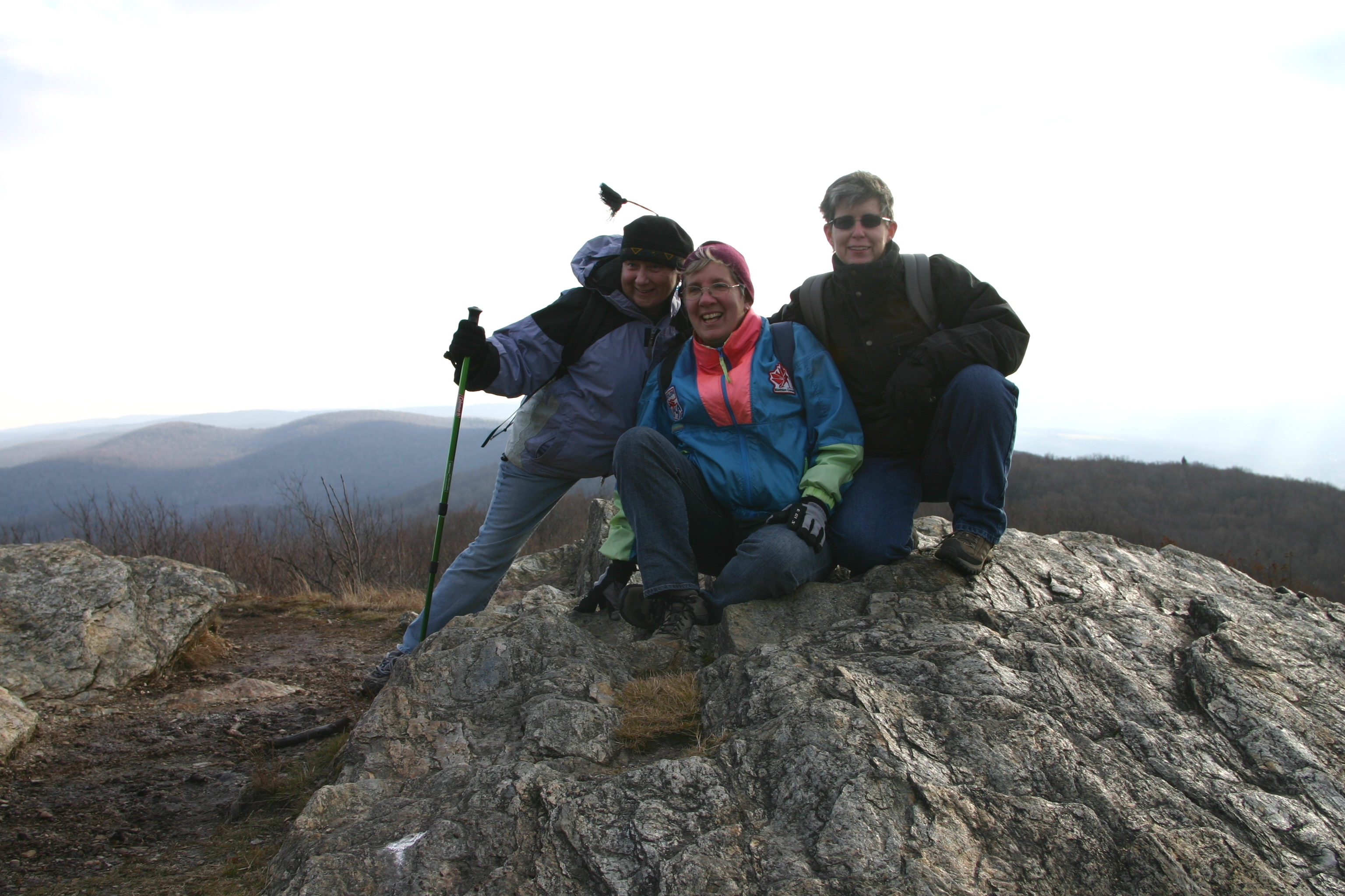 Albany chapter members on Mt. Savoy